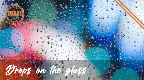 Drops-on-the-glass